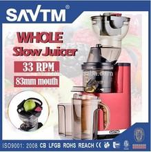 2015 Slow Juicer Extractor Vegetable+Mincer