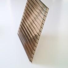 6mm/8mm/10mm bronze lexan polycarbonate hollow sheet price