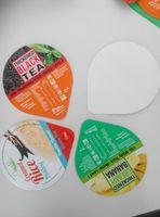 heat seal lid / heat seal pre-cut Lid / heat sealing plastic cup aluminum foil lid