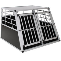 Good Quality Aluminum Transport Dog Cage/Alu Dog Carrier/Alu Dog kennel