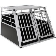 Good Quality Aluminum Transport Dog Cage/Alu Dog Carrier/Alu Dog kennel