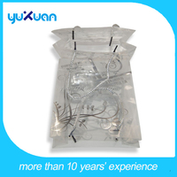 Gift&Arts transparent plastic shopping bag