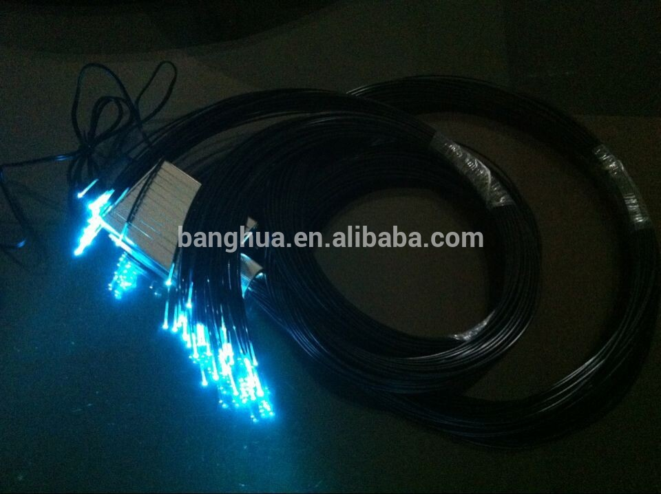 Strand Side Glow Fiber Optic Lighting Cable