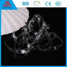 Shanghai TPU raw material elastic shoulder tape for swimwear,underwear,bra