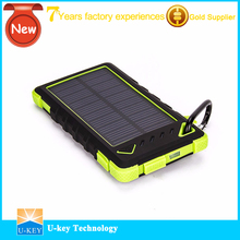OEM/Private Label Waterproof Solar Charger Mobile Phone Power Bank