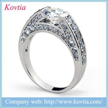 2015 Wholesale 925 sterling silver dubai jewellery beautiful pictures of 15 years 925 silver cz ring