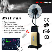 mini fan misting outdoor fan