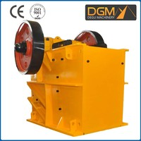 Reasonable structure jaw crusher analysis of the performance characteristics
