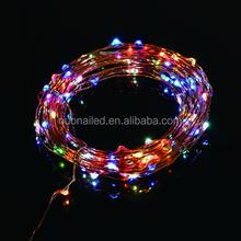 lower price red color LED string light christmas lights