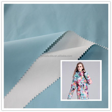184T full dull Breathable pu coated nylon taslon fabric