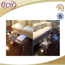 Modern New Fashion clear acrylic colored chairs and desk