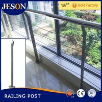 balcony stainless steel railing handrail and post