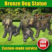 2016 New Design dog statue holding serving tray with Best Price