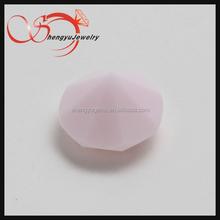 loose gemstones opaque pink color for jewel pen