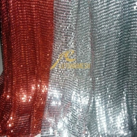 High quality metal drapery curtains for for stage background decoration