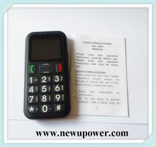 Aged people best cell phone for elderly wholesale online through alibaba easy used big keyboard elder people phone