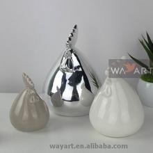 Vivid White Ceramic Chicken of Decorative Ceramic Chickens