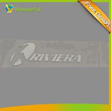OEM Mini Size Aluminum Sticker Type Gifts & Crafts Kitchen Ventilator Decoration Brand Logo Nickel Metal Label