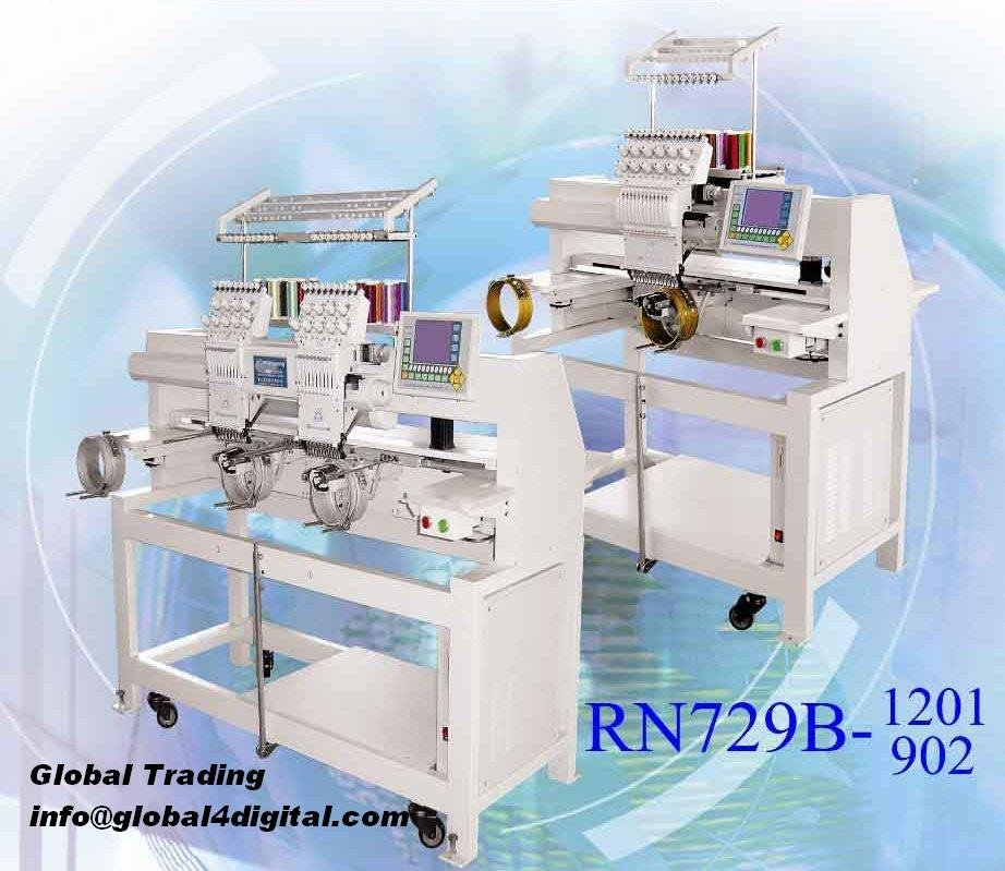 renaissance embroidery machine with 12 needle
