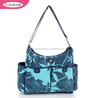 Emily Blue Hobo Baby Changing Bag