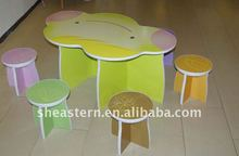 2012 Fashionable kids corrugate paper furniture