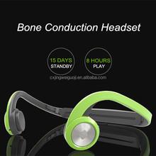 2015 new model Bluetooth bone conducting headphones