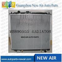MB890955 auto radiator for Mitsubishi Pajero V26 V46