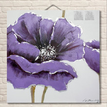 Home decor direct china flower oil painting pictures