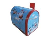 House shape Gift box Christmas Tin Cans