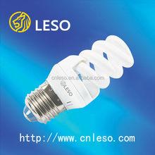 13W 9mm full spiral energy saving bulb