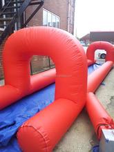 1000 ft slip n slide inflatable slide the city, airtech inflatable water slip n slide