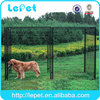 Heavy duty large outdoor metal dog run fence panels commercial dog cage