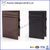 New Card-size Slots Fashion Original Authentic Leather Chinese Magic Wallet