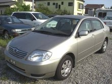 2003 Toyota used Corolla 1500cc 46,000km NZE121 Beige(No.1009132)