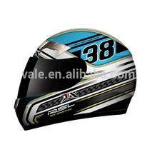 de alta calidad de la motocicleta casco de la cara