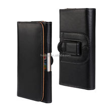 Hot! New! black color wholesale leather belt clip flip wallet case for iphone 6 factory price