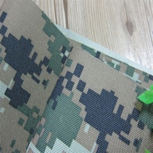 Polyester Oxford Waterproof 600D PU Coating Camouflage Printed Fabric