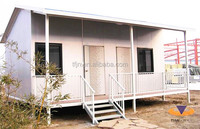 Africa Cheapest Modified Panel Structure House Prefabricated Container for construction worker