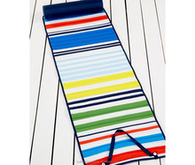 roll up beach blanket/ mat 100%polyester easy pack