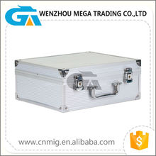 Silver Aluminum Tool Case, Equipment , Helicopter Carrying Case