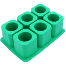 Customized creative 2014 new design silicone ice cube tray