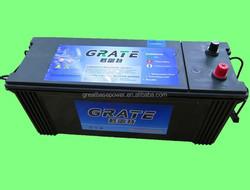 N120 sealed mf heavy duty vehicle battery deep cycle vrla battery 120ah 12V