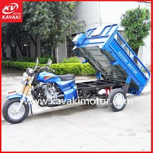 Electric Car Air Conditioning System Cargo Mobility Scooter 3 Wheel Tricycle for Sale