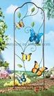 Atacado borboleta forma de Metal jardim de ferro treliça treliça \ forjado \ Metal Frame pérgola