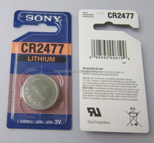 Hot Sale CR2477 3V 1000MAH Coin Cell Lithium Battery