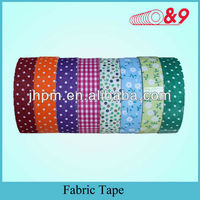white upholstery fabric tape
