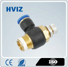 HSL/China supplier Male flow speed controller