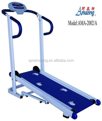 Portable mechanical treadmill fitness exercise machine AMA-2002/A