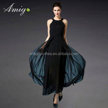 2015 new arrival girl casual dress dress stitching designs wholesale in china