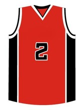 wholesale black/red basketball team wear
